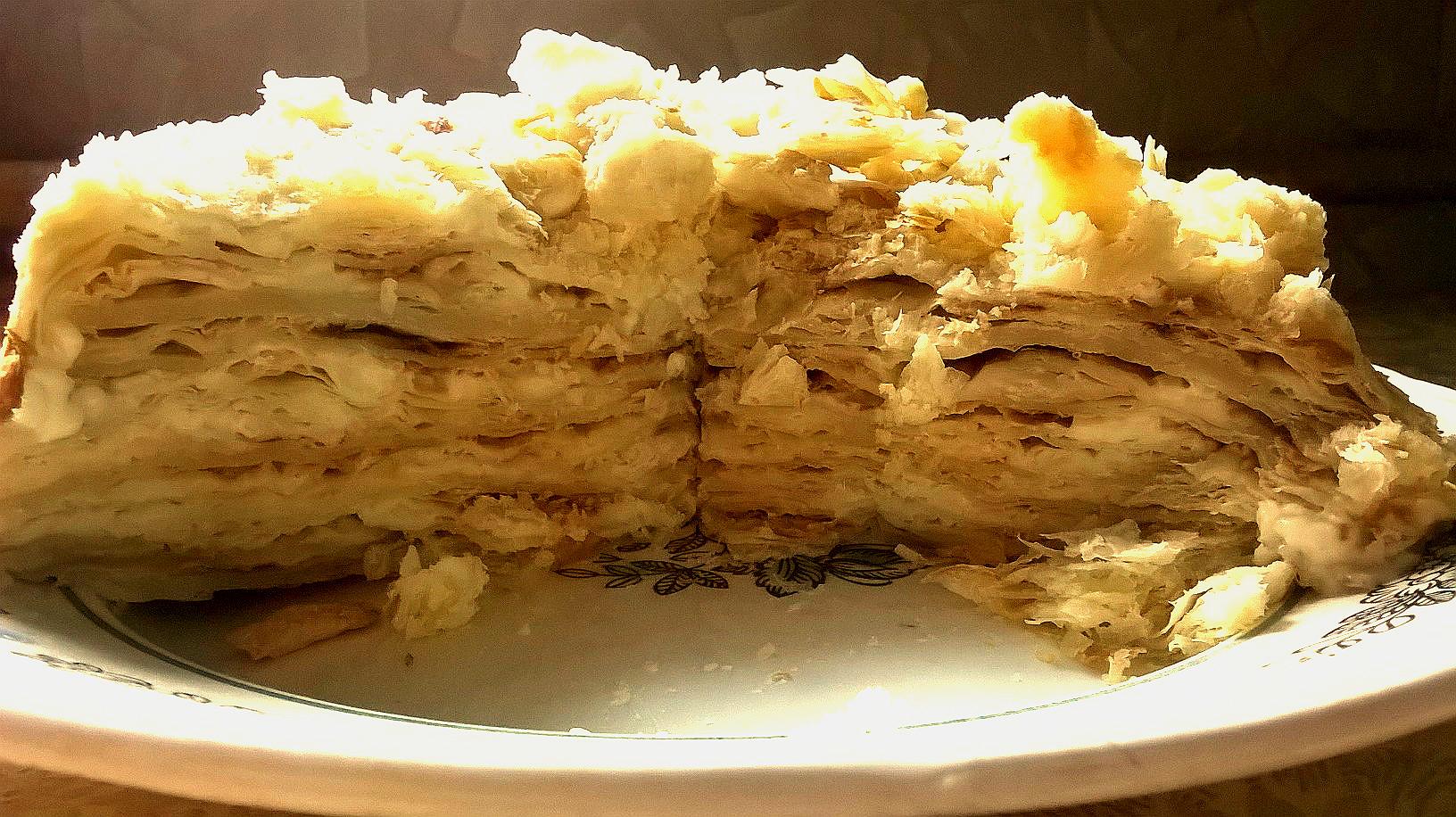 Торт наполеон с доставкой